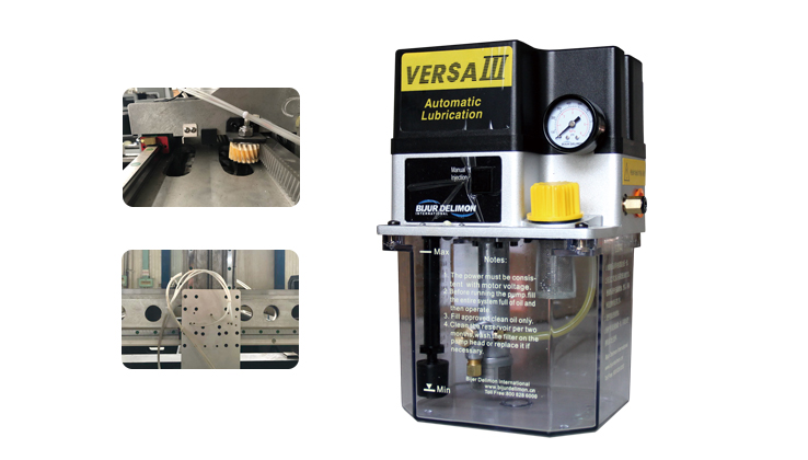 Automatic oil lubrication system