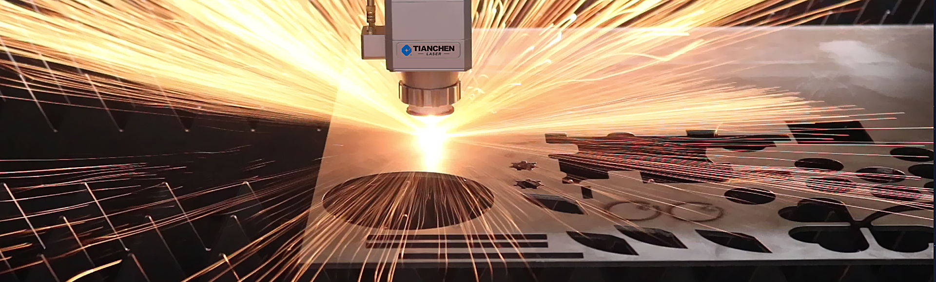 video of the fiber laser cutting machine