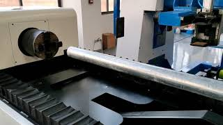 Tube and pipe fiber laser cutting video